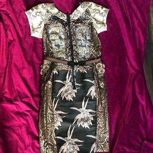 Byron Lars dress sold at Anthropologie